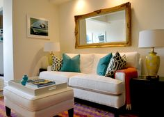 Love - apartment living room.