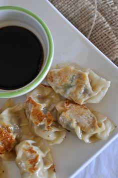 Pork and shiitake mushroom dumplings