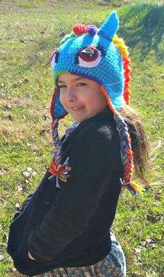 Check out this item in my Etsy shop https://www.etsy.com/listing/267488160/rainbow-horse-hat-rainbow-hat-horse-hat