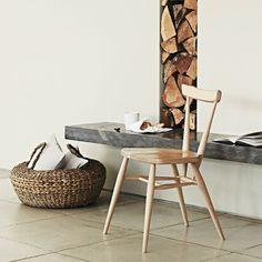 Domestivoshop . Ercol . 392 Stacking Chair . Lucian Ercolani . England #domesticoshop #ercol
