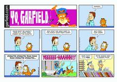 Garfield | Daily Comic Strip on February 19th, 2017