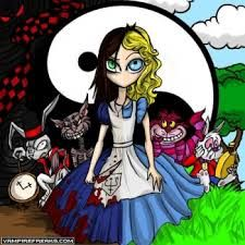 alice in wonderland dark side of the moon - Google Search