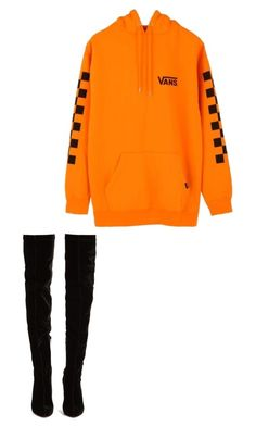 """Untitled #8"" by lightskinn-miyaa on Polyvore featuring Vans and Christian Louboutin"