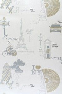 City different colour way Playroom Wallpaper, Different Colors, Colour, City, Pattern, Color, Patterns, Cities, Model