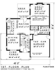 Two Storey House Plan # TS408 - Nauta Home Designs
