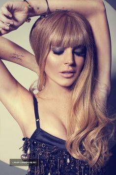 I do still love Lindsay - and her hair