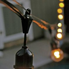 Construction Light String For Installing String Lights Above The Pool This Summer How To