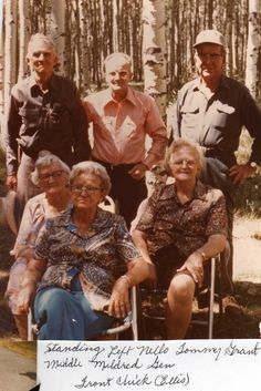 Grandpa with his brothers and sisters