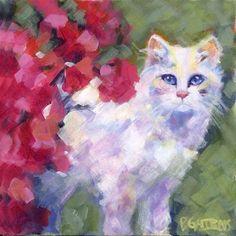 """American Beauty"" - Original Fine Art for Sale - © Pamela Gatens"
