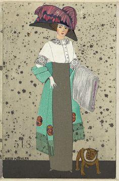 Fashion (Mode), Artist: Mela Koehler (Austrian, Vienna 1885–1960 Stockholm), Publisher: Published by Wiener Werkstätte, Date: 1911