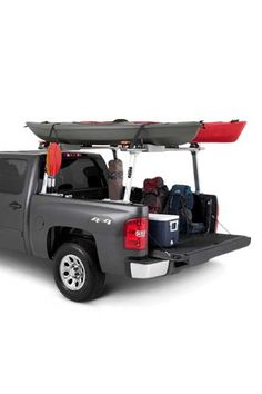 TracRac T-Rac Pro2 Truck Ladder Rack System for Chevy, Dodge, Ford & Toyota. Ladder kits for contractors and recreational use.