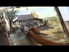 Watercolor Techniques with Don Andrews - Color Theory-Mixing Colors Part 2 - The Demonstration - YouTube