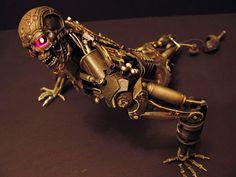 Custom T-600 Hot Toys - Opening of Terminator Salvation