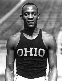 """From Wikipedia James Cleveland """"Jesse"""" Owens (September 1913 – March was an American track and field athlete who specialized in the sprints and the long jump. He participated in the 1936 Summer Olympics in Berlin, Jesse Owens, Running Man, Nike Outfits, Berlin Olympics, 1936 Olympics, James Cleveland, American Athletes, Long Jump, Sport Icon"""