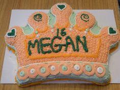 Princess crown cake for my niece.