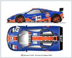 McLaren F1 GTR Le Mans 1996