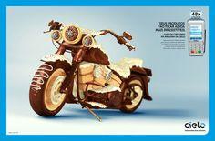 3D Chocolate Ads by Silvio Medeiros Beautiful Life