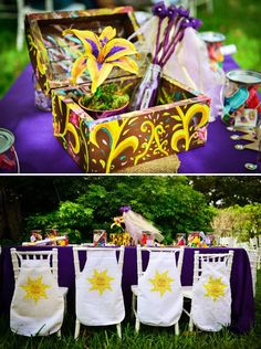 A Rustic Royal Affair {A Tangled Inspired Birthday}
