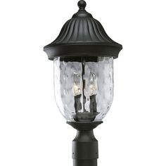 Progress Lighting P5429-31 Coventry 2 Light 20 inch Textured Black Outdoor Post Lantern