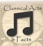 Classical Acts & Facts History Timeline Songs