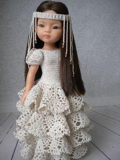 Best 9 Ideas Sewing Crafts Dolls American Girls For 2019 – SkillOfKing. Knitting Dolls Clothes, Crochet Doll Clothes, Knitted Dolls, Girl Doll Clothes, Doll Clothes Patterns, Barbie Clothes, Clothing Patterns, Girl Dolls, Crochet Doll Dress