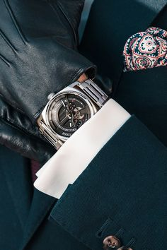 - High-End mechanical watches - watches Mechanical Watch, Automatic Watch, Cufflinks, Watches, Leather, How To Wear, Men, Accessories, Clocks