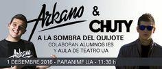 Los raperos Arkano y Chuty se encuentran con Cervantes en la Universidad de Alicante — Alicante Press