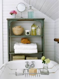 Pretty bathroom storage ideas- Home and Garden Design Ideas