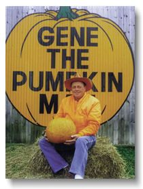 Kalamazoo MI - Gene the Pumpkin Man. Everyone who is anyone gets their pumpkins from Gene