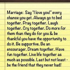 motto for marriage.