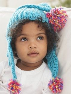 Caron Come to the Point Baby Hat