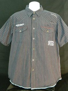 Ecko Unlimited UNLTD Casual Button Up Size XXL Purveyors Of All That's Good