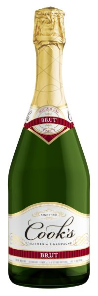 cook 39 s brut california sparkling wine from usa a medium dry sparkling