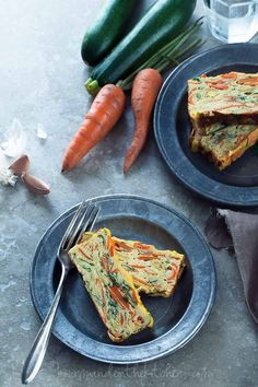 Savory Vegetable Loaf Cake Recipe (Gluten-Free, Grain-Free, Vegetarian, Paleo) #GourmandeintheKitchen