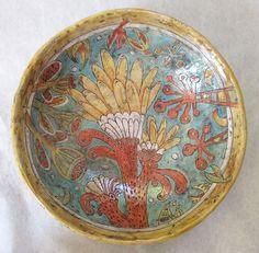 Large Botanicals Art Bowl