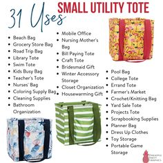 Thirty-One Small Utility Tote Thirty One Logo, Thirty One Baby, Thirty One Hostess, Thirty One Games, Thirty One Business, Business For Kids, Outlet Sale Thirty One, Thirty One Utility Tote, Thirty One Facebook