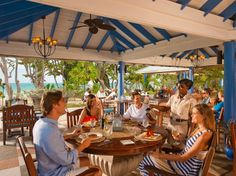 Best resorts for foodies:  18. SANDALS WHITEHOUSE EUROPEAN VILLAGE & SPA  Jamaica    Food score: 95.5    Restaurants: 7    Rooms: 360    Signature dish: Chicken Three Ways (Japanese robatayaki, Filipino adobo, and Thai lemongrass/coconut) at Jasmine's.    Don't miss: Grilled lobster at the Monday beach barbecue.    (Meals included in room rate.)