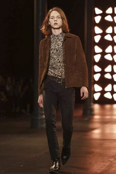 Saint Laurent Menswear Spring Summer 2015 Paris JACK KILMER