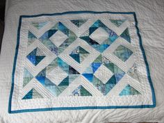 Half Square Triangle Baby Quilt | Flickr - Photo Sharing!