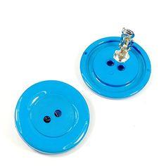 streitstones Ohrklips Knopf blau 41 mm bis zu 50 % Rabatt streitstones http://www.amazon.de/dp/B00TEEKR3I/ref=cm_sw_r_pi_dp_8AT6ub0R6NF19, streitstones, Ohrring, Ohrringe, earring, earrings, Ohrclips, earclips, bling, silver, gold, silber, Schmuck, jewelry, swarovski