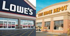 Lowe's and Home Depot Black November Savings Now Live!