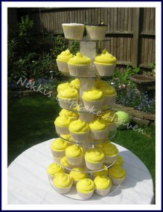 Yellow Wedding Tower