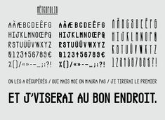 Typographies - Formes Vives, l'atelier