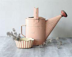 Vintage Pink Watering Can