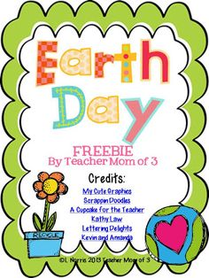 Teacher Mom of 3: Earth Day FREEBIE! Reading for Information