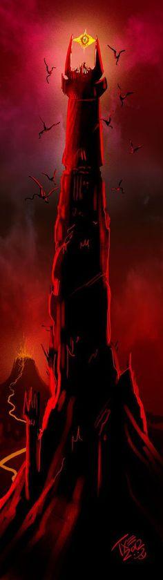 El señor de los anillos en ilustraciones....