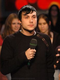 Why yes, I would date Gerard. - Frank Iero, My Chemical Romance (Yes, he really said that.)