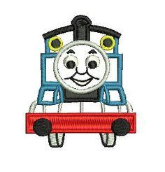 Thomas Applique, Embroidery Design, Thomas the Tank Engine, Embroidery Applique, Thomas Birthday  (16) Instant Download