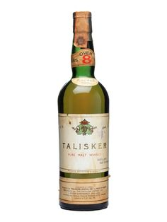 Talisker 8 Year Old / Bot.1960s Scotch Whisky : The Whisky Exchange