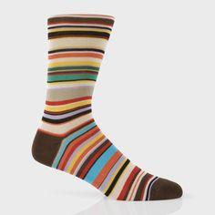 Paul Smith Men's Socks | Signature Stripe Socks